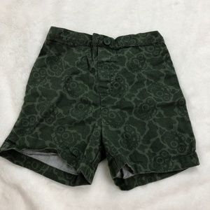 Other - Green Boys Monster Truck Offroad Shorts Elastic